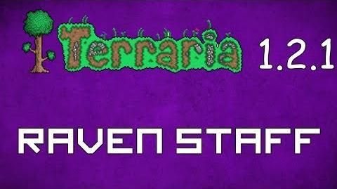 Raven Staff - Terraria 1.2