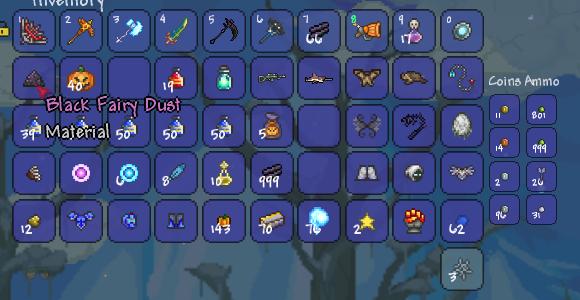 Black Fairy Dust