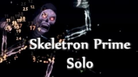 Terraria - Skeletron Prime solo kill, epic hardmode boss