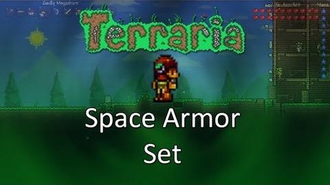 Terraria Obsidian Mod — Space Armor Set!