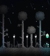 Крашеные деревца