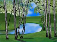 Forest vesna