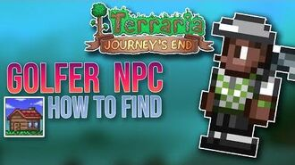 Journeys End How to get the Golfer NPC