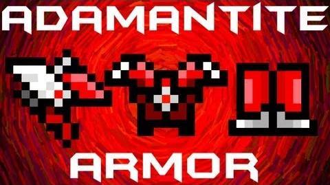 Terraria - Adamantite Armor
