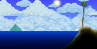 Océano paisaje