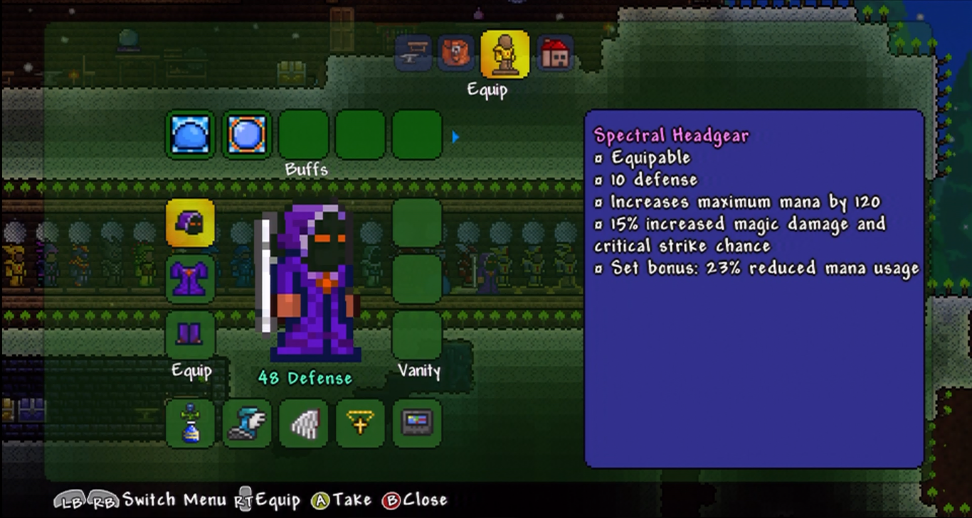 Spectral armor set terraria wiki fandom powered by wikia publicscrutiny Image collections