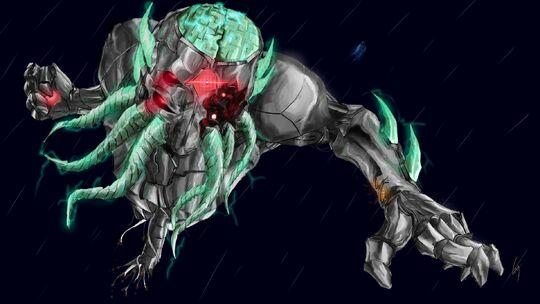 Mechanical moon lord by bohrokki-d9i8hig