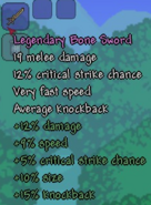 Legendary Bone Sword