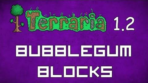 Bubblegum Block - Terraria 1.2 Guide New Bubblegum Blocks!