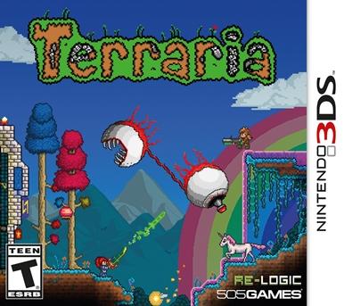 2D Terraria 3DS USA