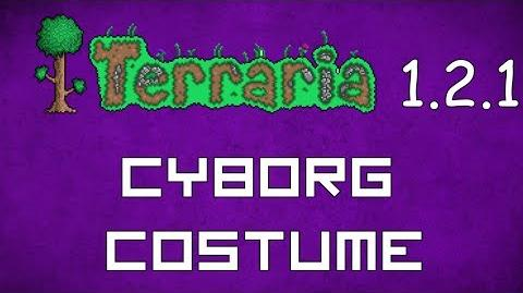 Cyborg Costume - Terraria 1.2.1 New Social Set!