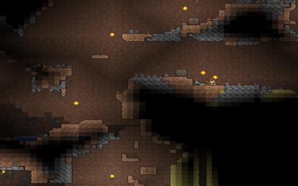Krajobraz podziemi lasu