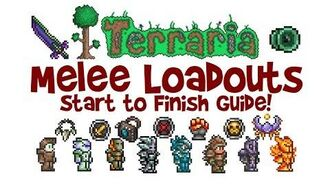 Best Terraria Melee Loadout Guide! (Class Weapons, Armor & Accessories, 1.2.4 & 1.3)