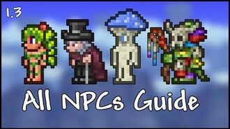 All NPCs Guide - Terraria 1.3