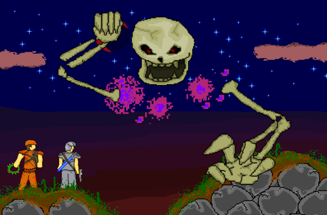 File:Players facing Skeletron by ZtG.PNG