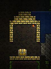 Wallless jungle shrine