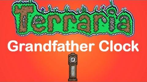 Terraria Grandfather Clock