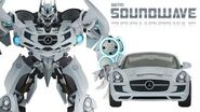 SOUNDWAVE (DOTM) Transform Short Flash Transformers Series