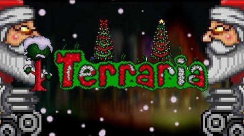 "Terraria - Christmas Preview New boss ""Santank"""