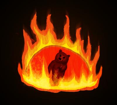 Bear in da Burning Slime