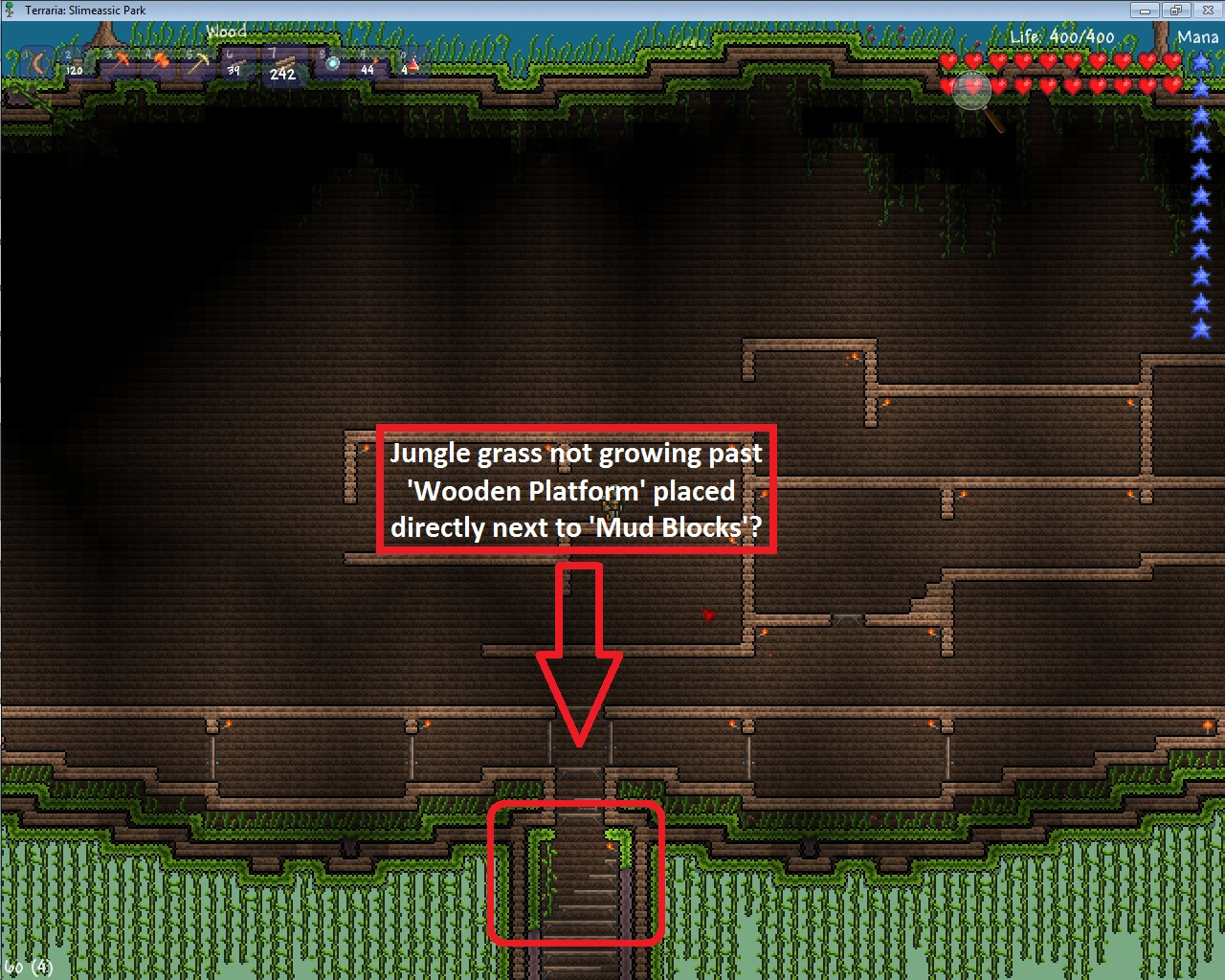 Forumjungle Grass Wont Grow Pas Wooden Platforms Terraria Wiki