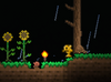 Goldfish walking