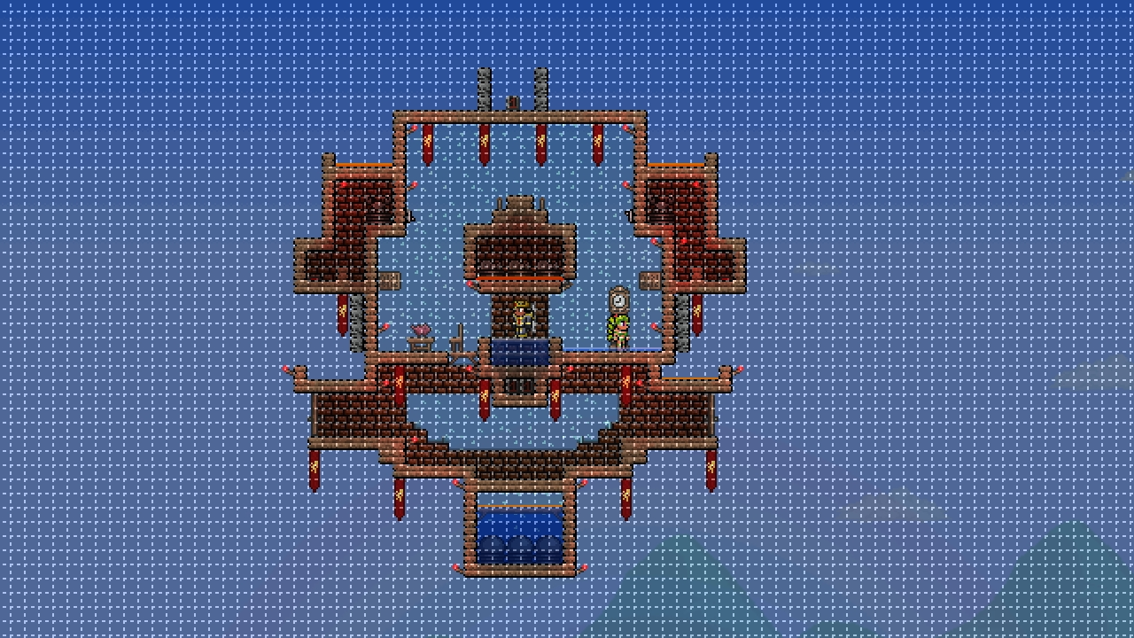 Wire Creations Terraria Wiki Fandom Powered By Wikia Starbound Wiring Doors Goldfish Farm