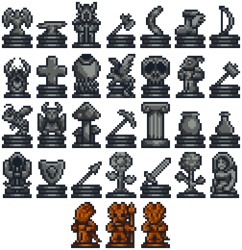 Placed Statues (Decorative)