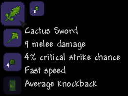 Cactus Sword