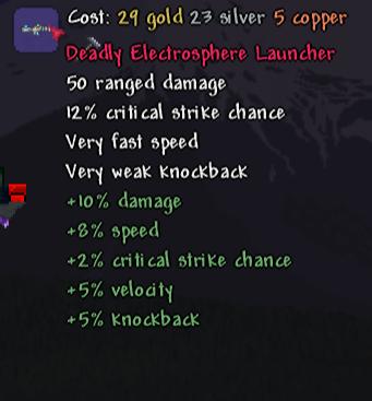 Electrosphere Launcher