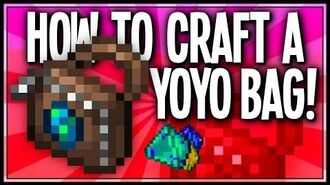 HOW TO CRAFT YOYO BAG - Terraria Showcases