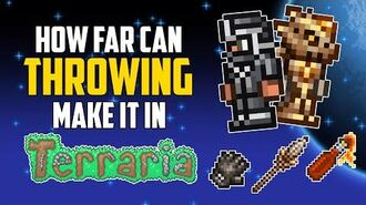 How Far Can Throwing Make it in Terraria? HappyDays