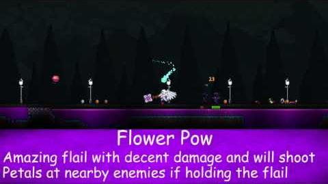 Flower Pow - Terraria 1.2 Guide New Melee Weapon!