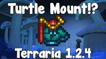 Turtle Mount - Terraria 1.2