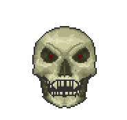 Скелетрон крутая башка