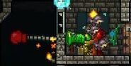 KO-Canon through wall