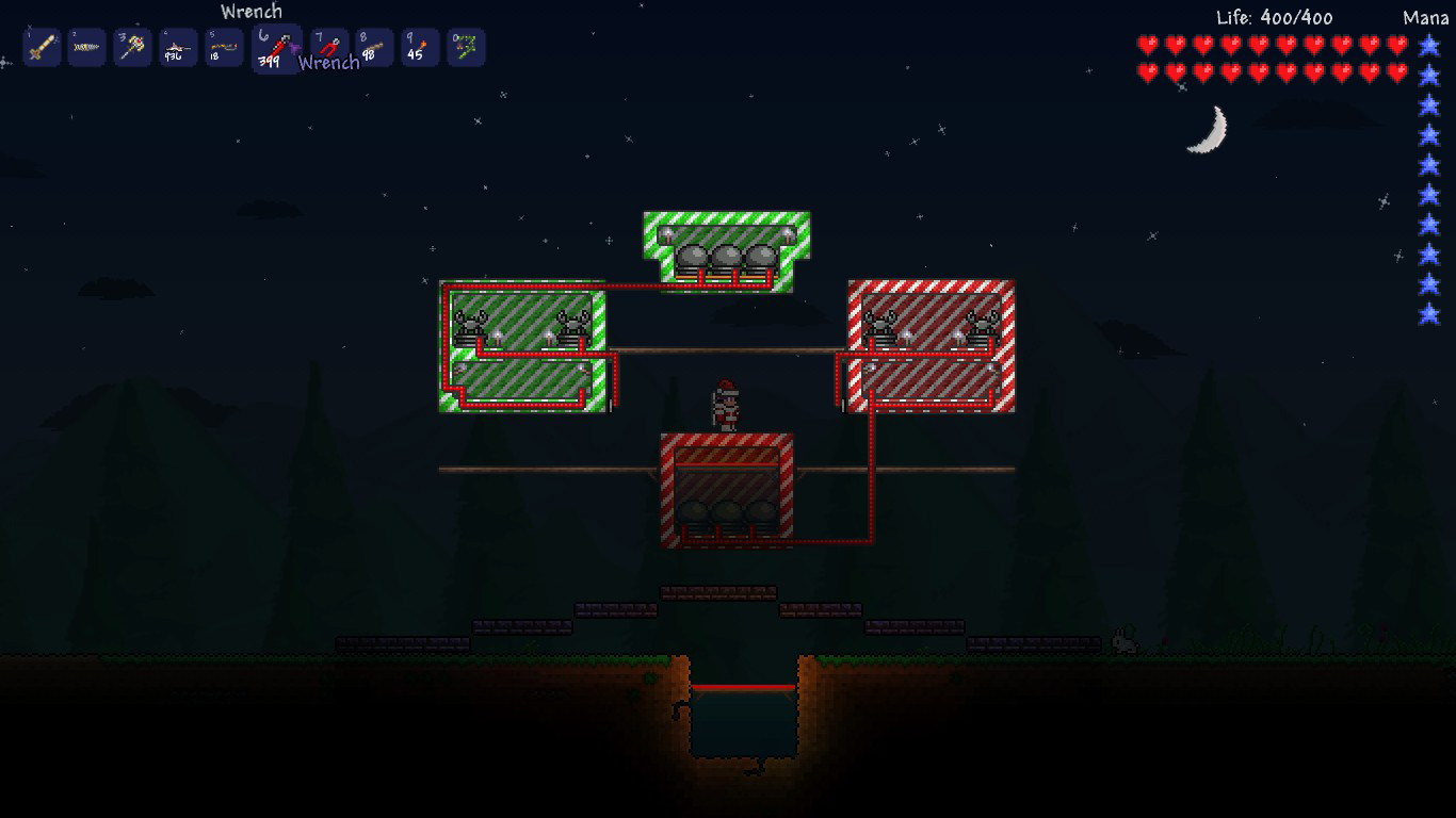 Wire Creations Terraria Wiki Fandom Powered By Wikia Wiring Station In Starbound Crab Engines