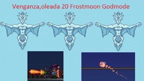 Terraria Oleada 20 Frostmoon Tshock