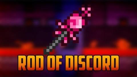 Terraria - Rod of Discord; rare teleportation item