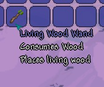 Living Wood Wand