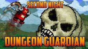 Terraria - Dungeon Guardian on Second Night Speedrun Challenge