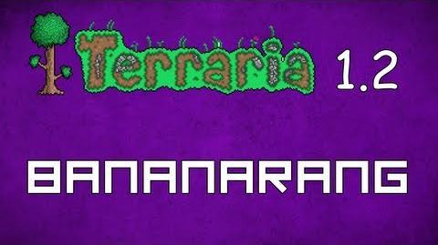 Bananarang - Terraria 1.2 Guide New Melee Weapon!