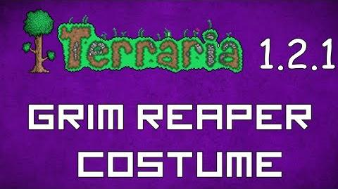 Grim Reaper Costume - Terraria 1.2.1 New Social Set!