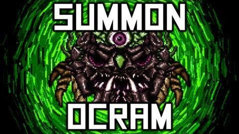 Terraria - Suspicious Looking Skull - How To Summon Ocram - Final boss - Terraria HERO