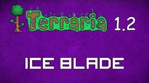 Ice Blade - Terraria 1