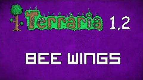 Bee Wings - Terraria 1.2 Guide New Wings!