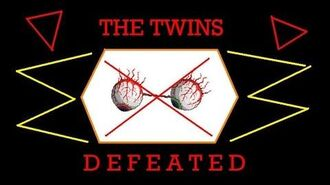 "Terraria iOS Defeated ""The Twins"""