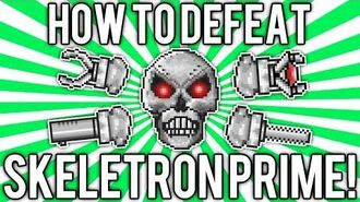 Terraria 1.2 How to Defeat Skeletron Prime! (UPDATED EASY SOLO GUIDE TUTORIAL) demize