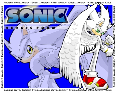 Sonic the hedgehog Heroic form by G