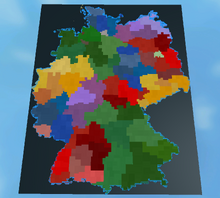 Germany-Terrain-Map